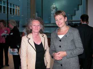 JJ and Caroline Lucas MP