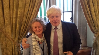 JJ and Boris Johnson at HOL